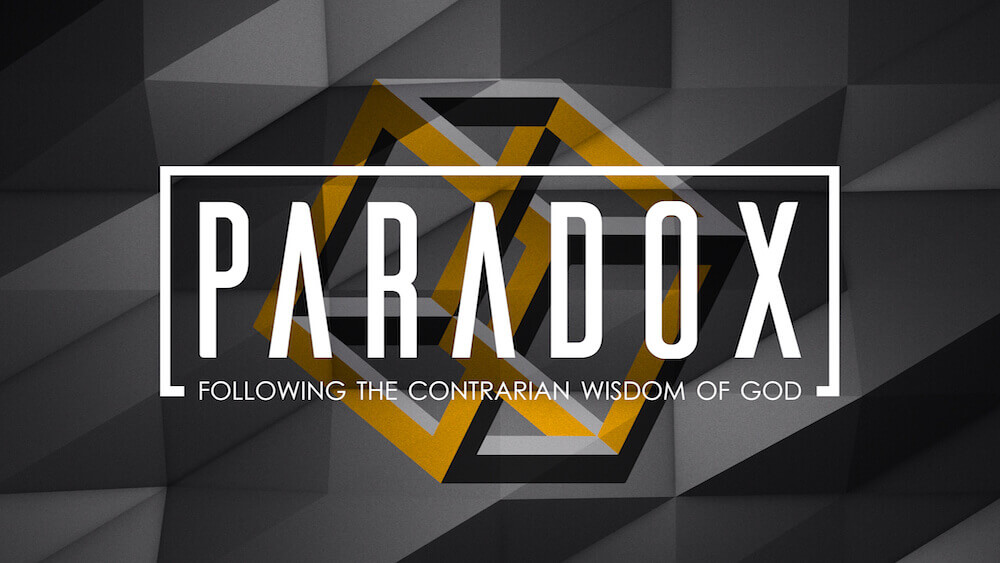 Paradox: Following the Contrarian Wisdom of God