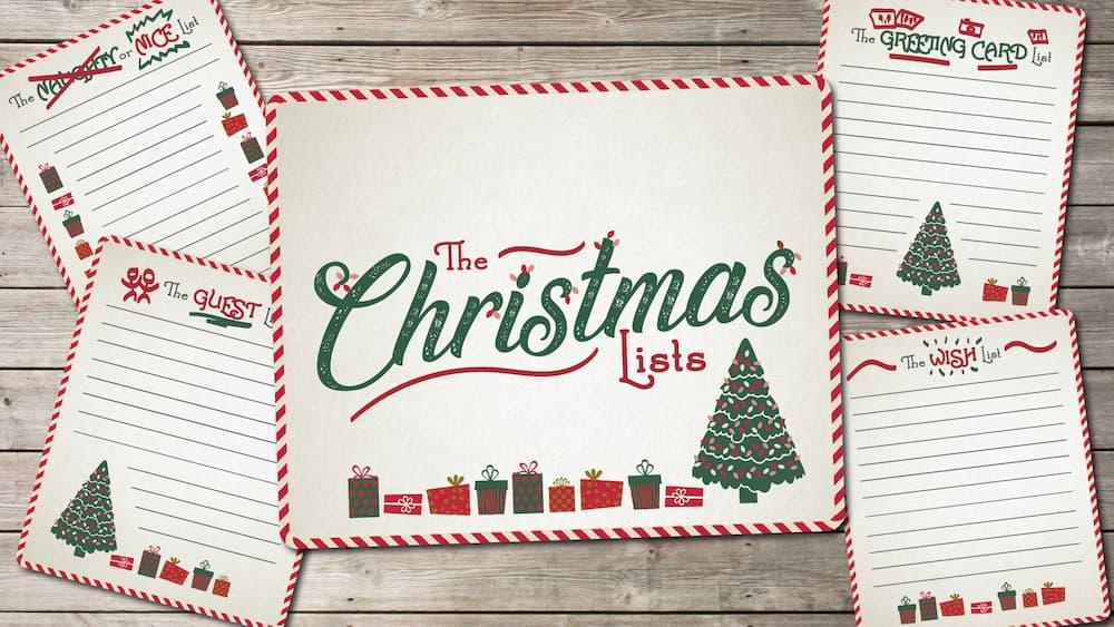 The Christmas Lists